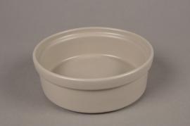 A689WV Grey ceramic bowl D14.5cm H5cm