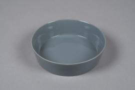 A704WV Grey ceramic bowl D19cm H5cm