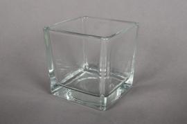 A709IH Cube glass 8x8cm H8cm
