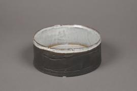 A710UO Grey ceramic bowl D19cm H8cm