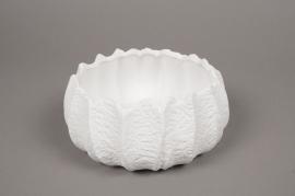 A715UO White ceramic bowl D19cm H8cm