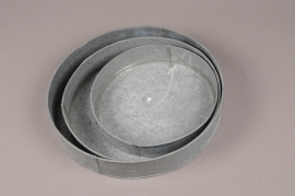 A722WV Set 3 zinc bowl D30cm