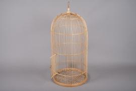 A738KI Cage en bambou D39.5cm H80cm