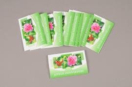 A749MQ Pack of 10 postcards Joyeux Anniversaire