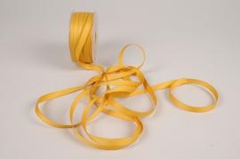 A793UN Gold satin ribbon 10mm x 35m