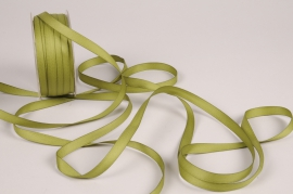 A794UN Green satin ribbon 10mm x 35m