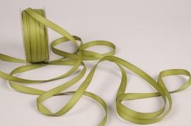 A794UN Ruban satin vert olive 10mm x 35m