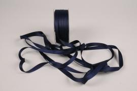 A795UN Blue satin ribbon 10mm x 35m
