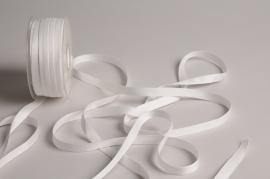 A799UN White satin ribbon 10mm x 35m