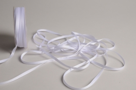 A806UN White satin ribbon 5mm x 70m