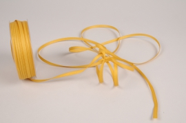 A807UN Gold satin ribbon 5mm x 70m