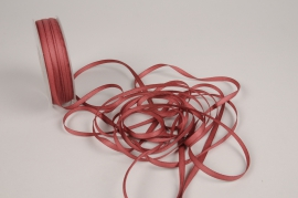 A818UN Dark pink satin ribbon 5mm x 70m