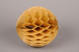 A835GM Paquet de 2 boules papier à suspendre kraft D20cm