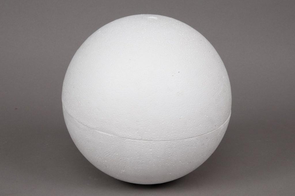 A872QV Boule creuse polystyrène D40cm