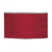 A873UN Ruban de velours rouge 63mm x 7m