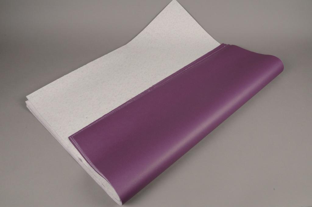 A885QX Rame de 100 feuilles papier kraft violet 60 x 80cm