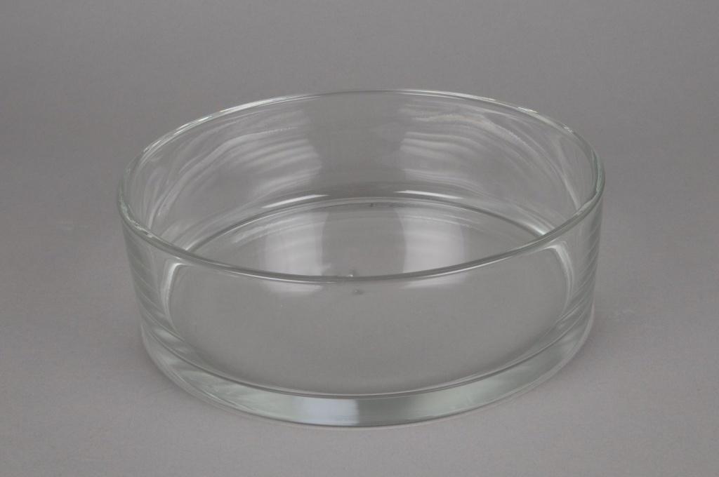 A907IH Coupe en verre cylindre D25 H8cm