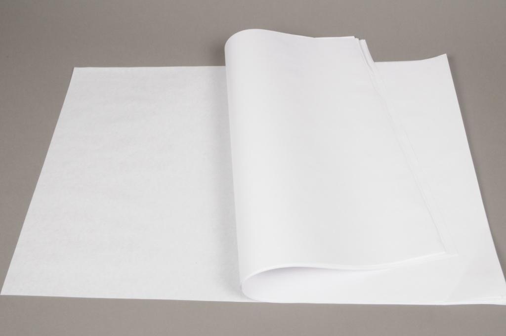 A936QX Ream of 250 sheets white kraft paper 40 x 60m