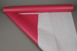A941QX Rouleau de papier kraft blanc / rose 0,8x50m