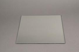 A952IH Support de bougie miroir 30x30cm