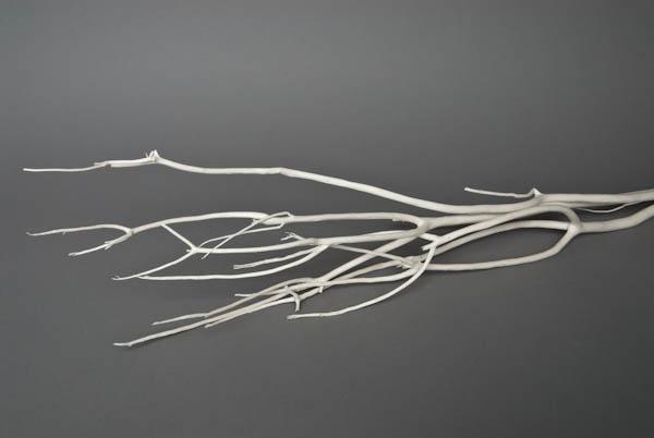 ad01sx Branches de mitsumata blanches H90/115cm