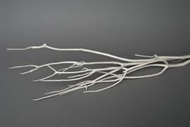 ad01sx Set de 3 Mitsumata blanc H90/115cm