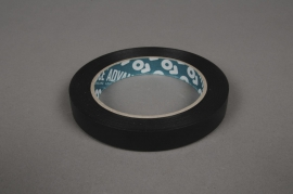 A012RL Adhesive tape floral black