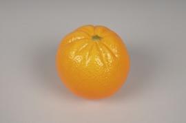 af09eh Boîte de 12 oranges artificiels D8cm