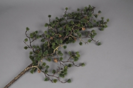 x023lp Artificial pine branch green H100cm