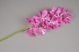 x292fp Artificial pink vanda branch H65cm