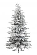 X927KI Artificial snow-covered alaskan Christmas tree diameter 145cm height 210cm