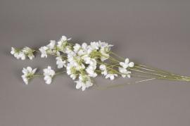 xx20di Artificial snowy white prunus branch H100cm