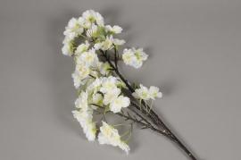 x539lp Artificial white prunus branch H90cm