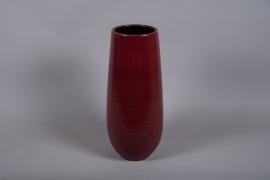 B024DQ Vase céramique rose D23cm H58.5cm