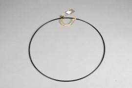 B029DQ Cercle métal noir D38cm