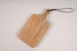 B056DQ Planche à découper en bois déco L9cm H19cm