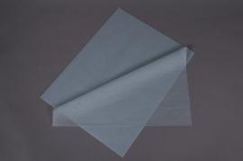 B134QX Paquet de 480 feuilles papier de soie gris 50x75cm