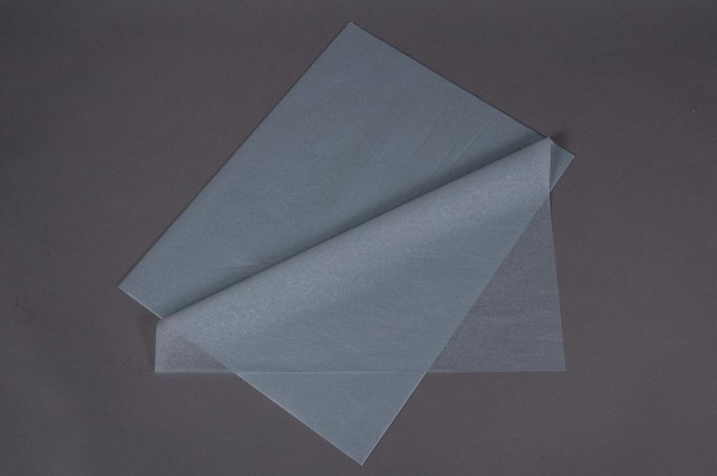 B134QX Ream of 480 tissue paper sheets grey 50x75cm
