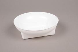 B175QV Pack of 25 white plastic bowls D15.5cm H5cm