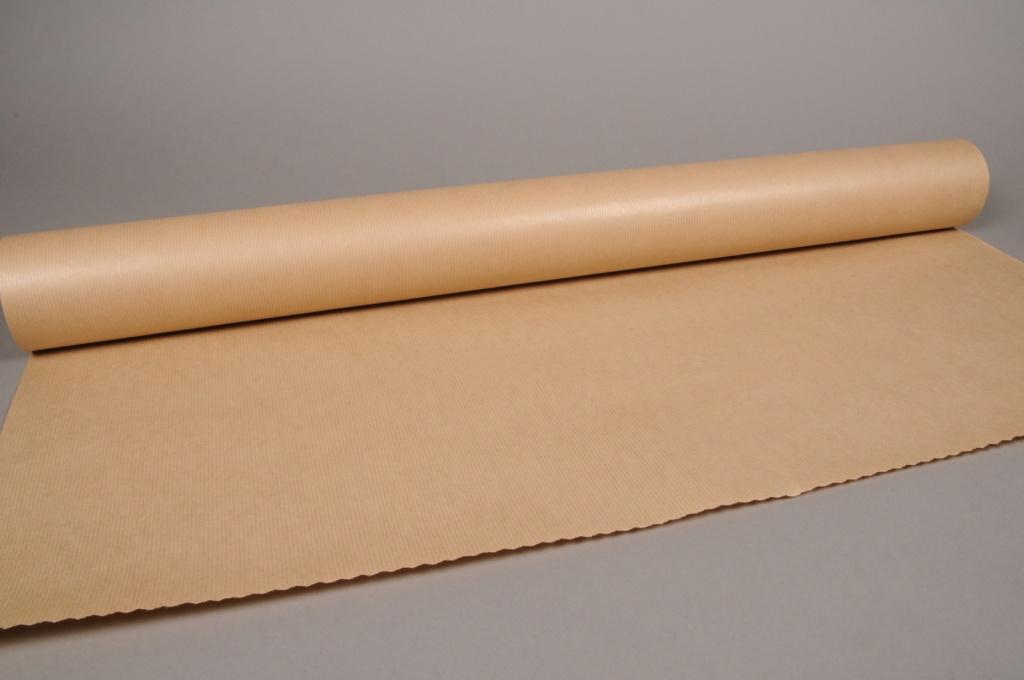 B182QX Kraft paper roll natural 80cm x 50m