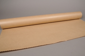 B182QX Kraft paper roll natural 80cm x 50m