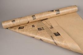 B184QX Kraft paper roll newspaper 80cmx40m