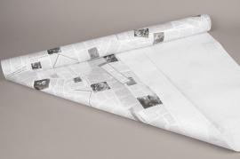 B185QX Kraft paper roll newspaper 0,80x40m