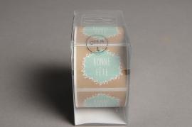 """B187QX Boîte de 500 étiquettes """"Bonne Fête"""""""