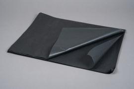 B189QX Paquet de 480 feuilles papier de soie noir 50x75cm