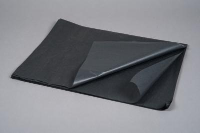 B189QX Ream of 480 black tissue paper sheets 50x75cm