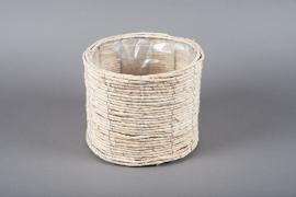 B311LE Cache-pot en jacinthe d'eau D23cm H19.5cm