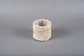 B313LE Cache-pot en jacinthe d'eau D16cm H14.5cm