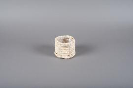 B314LE Cache-pot en jacinthe d'eau D11cm H10.5cm