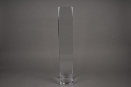 B323W3 Vase en verre 10x10cm H72cm